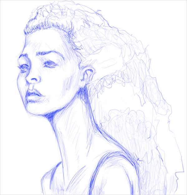 600x627 Best Sketch Drawing Ideas Free Amp Premium Templates