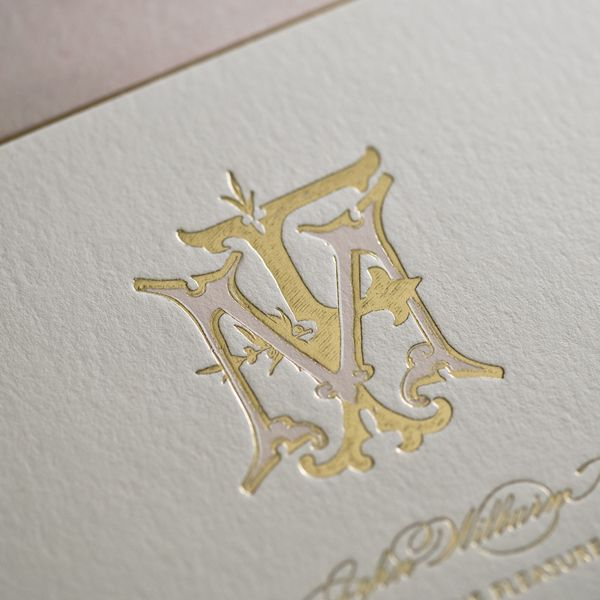 600x600 Bell'Invito Stationers Hand Drawn, Monograms And Letterpresses