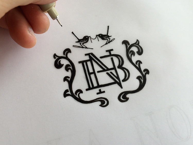 750x563 Learn To Draw A Monogram Sarah Dayan French Hand Lettering