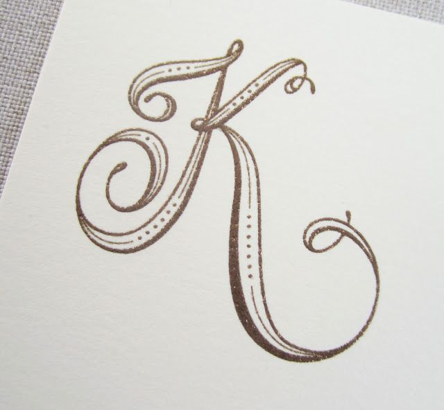 640x592 Hand Lettered Monograms