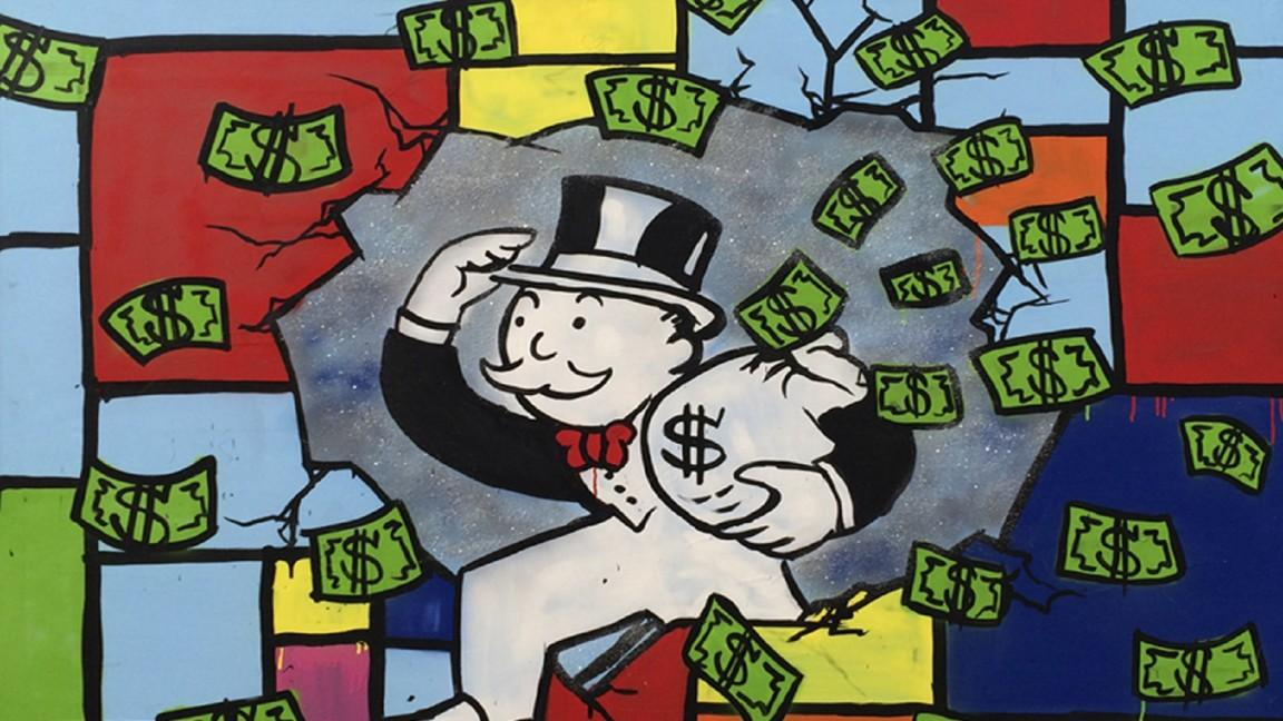 1152x648 Alec Monopoly's Graffiti Celebrity Portraits And Monopoly Man Are