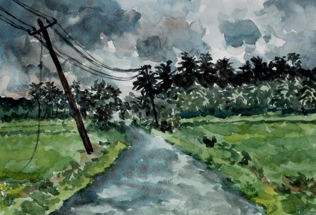 1024x696 Chumma Draw Monsoon Watercolor A4