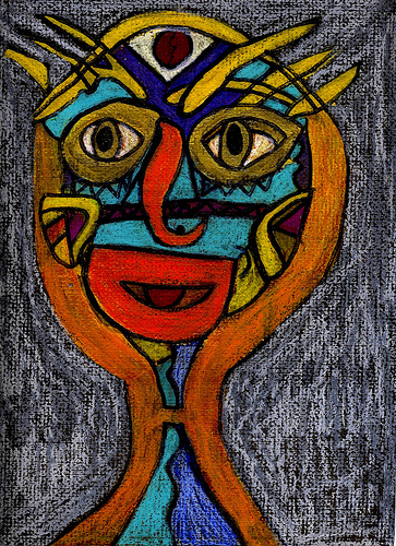 363x500 Monsoon Girl By Donna Kuhn Donna Kuhn Painting And Drawingmixed