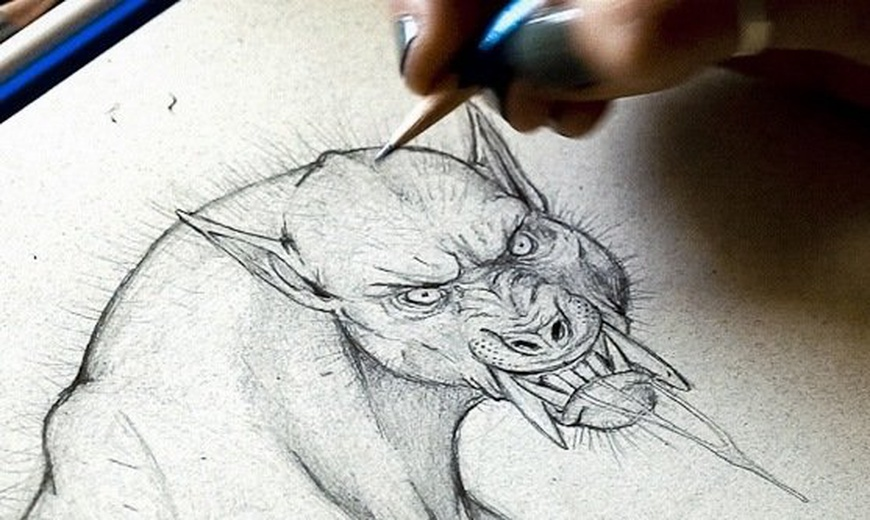 870x520 How To Draw A Werewolf