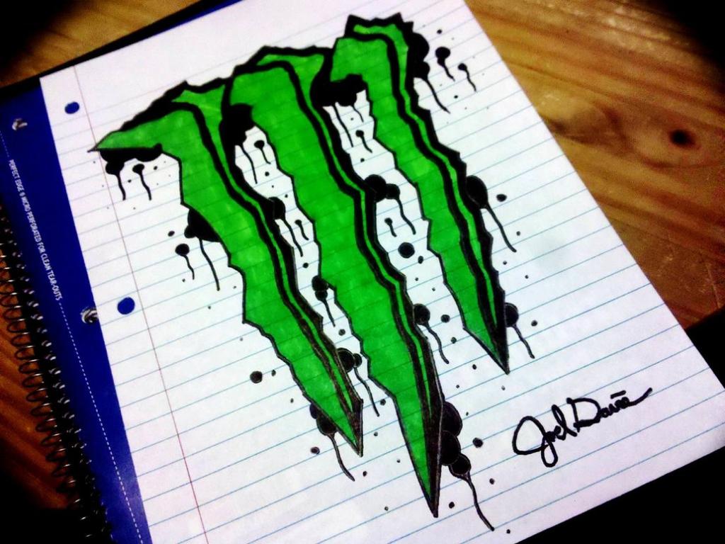 1024x768 Graffitis De Monster Energy Graffitis De Monster Energy Zk12