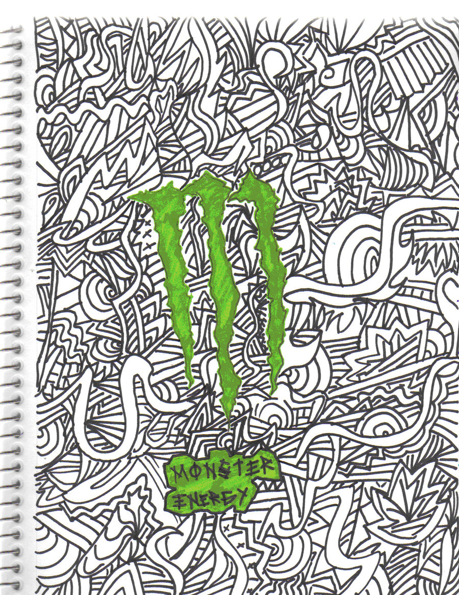900x1165 Monster Energy By Darkness Anime