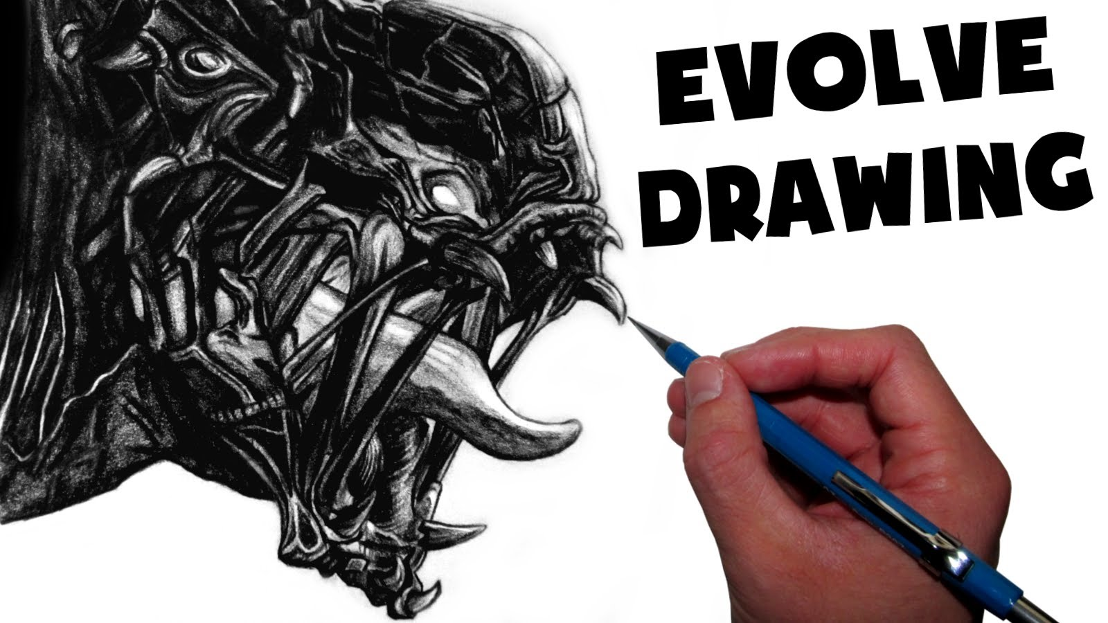 1600x900 Goliath Monster Drawing
