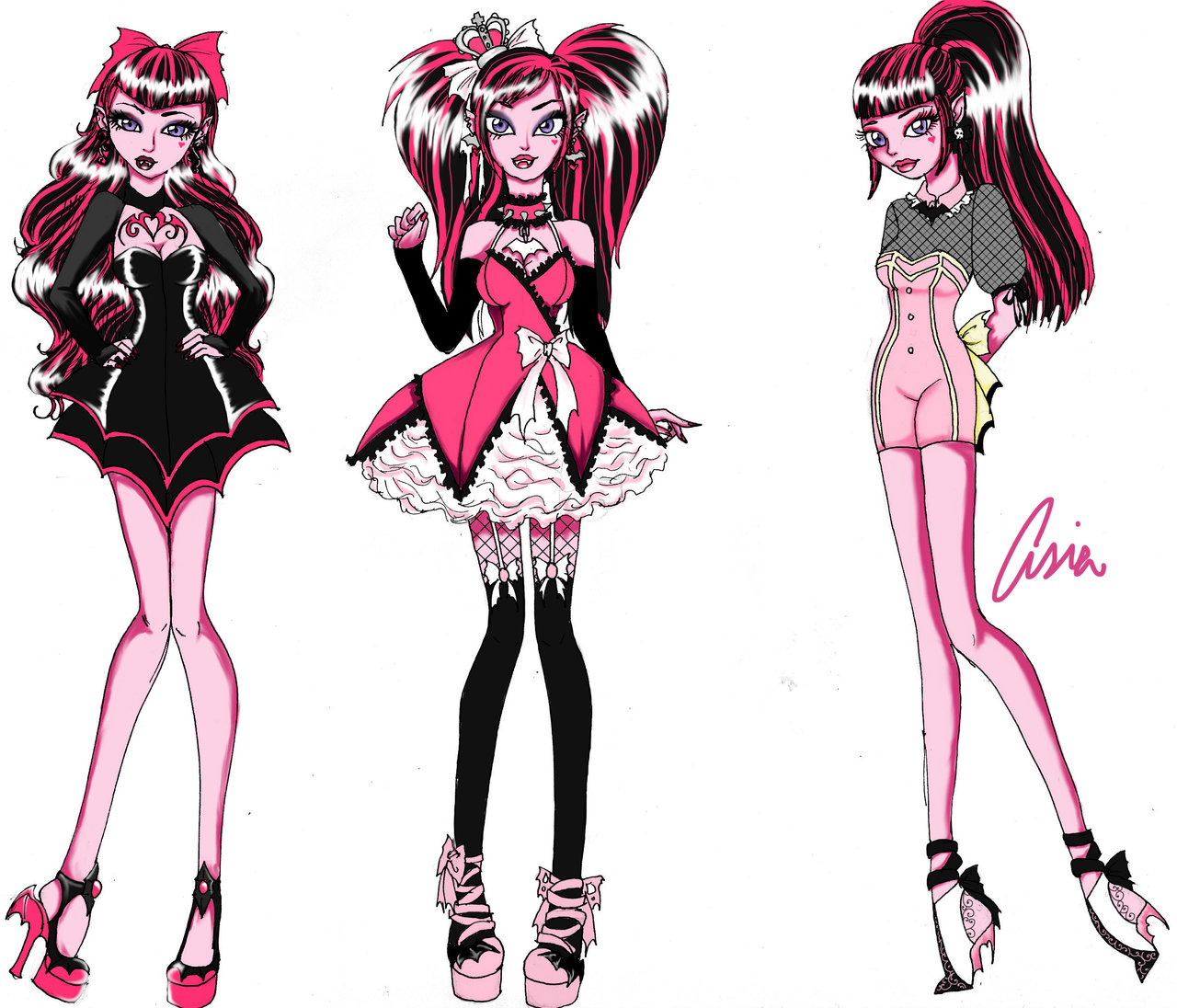 1280x1096 Draculaura Fashion Set Pt 2 By Persephonekat