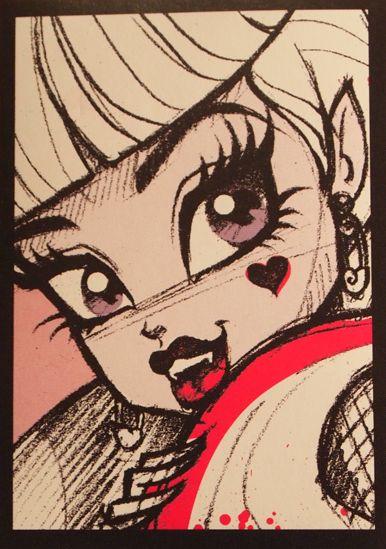 386x549 Draculaura Drawings