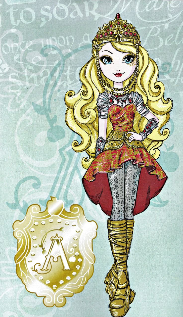 736x1275 Ever After High Apple White Fox
