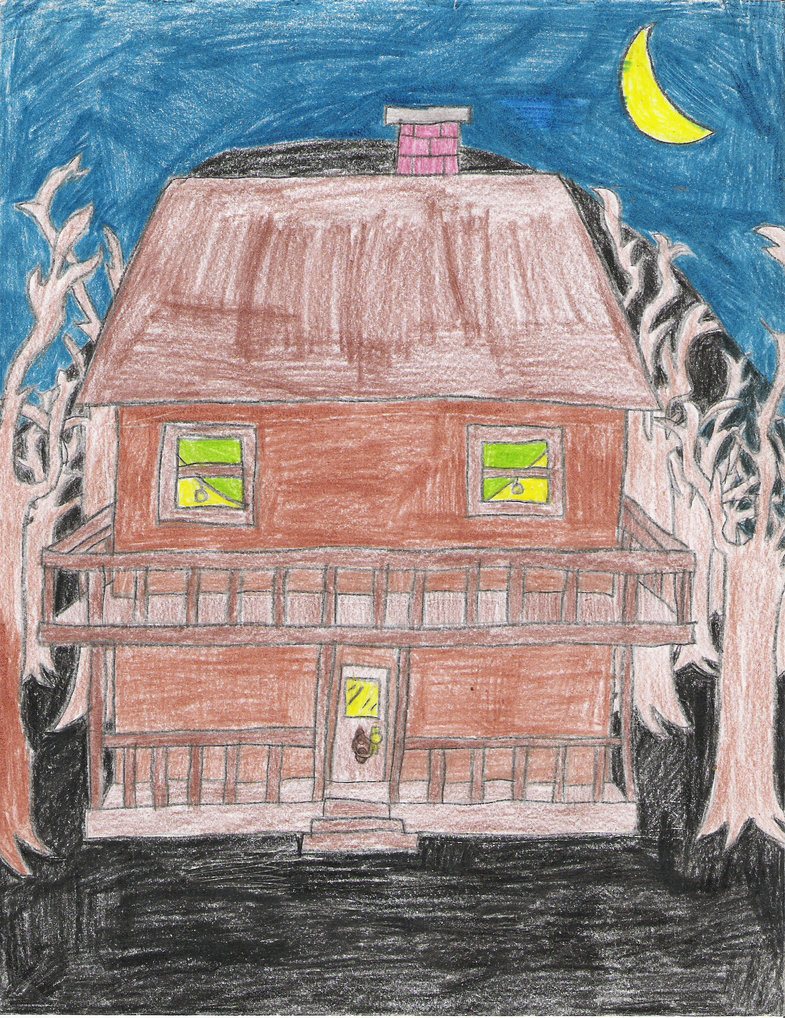 Monster House Drawing at GetDrawings.com | Free for personal use ...