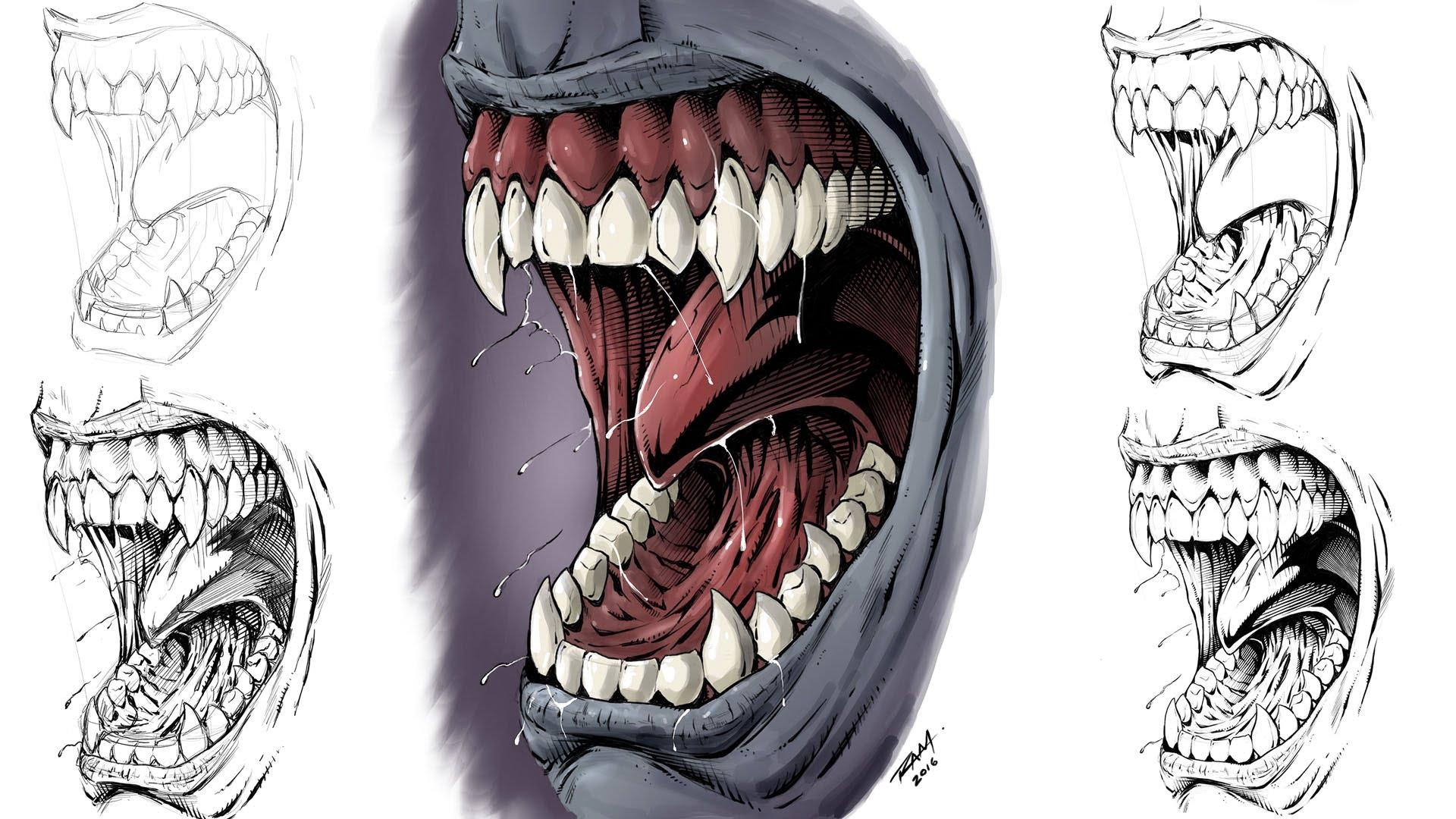 1920x1080 Monster Teeth