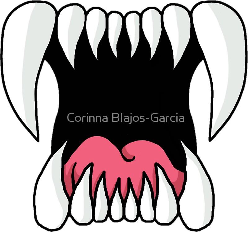 800x749 Teeth Stickers By Corinna Blajos Garcia Redbubble
