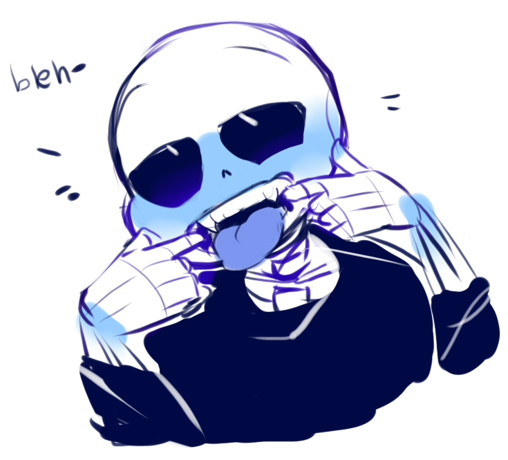 735x665 What, A 10 Minute Break That's Enough For Me To Draw A Sans