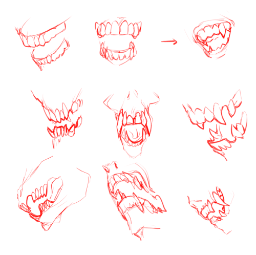 monster teeth drawing at getdrawings com free for personal use