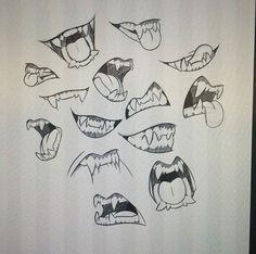 236x234 To Draw Sharp Teeth