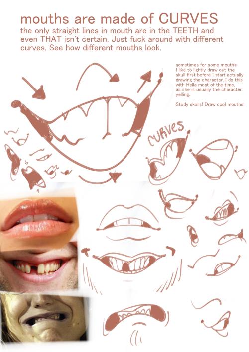 500x708 Teeth Tutorial Tumblr