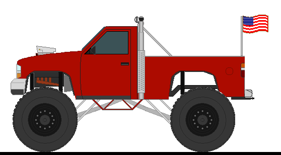 558x308 Lifted Chevy Truck Drawings A Chevy Pickup Monster Truck Kids
