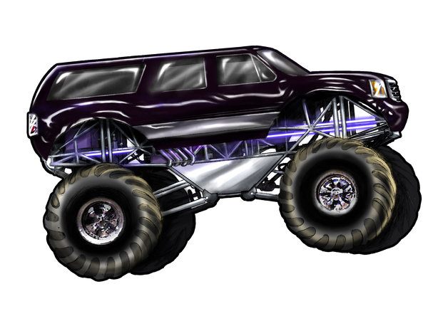 600x437 Monster Truck By Jseththomas