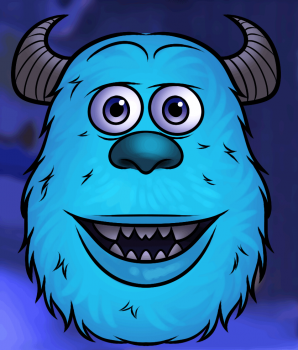 298x350 How To Draw How To Draw Sulley Easy
