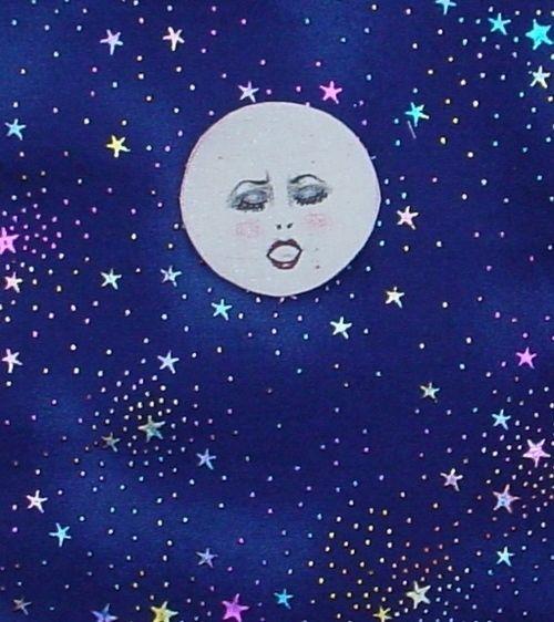 500x562 Indigo Moon And Stars Drawing Indigo Moon, Star