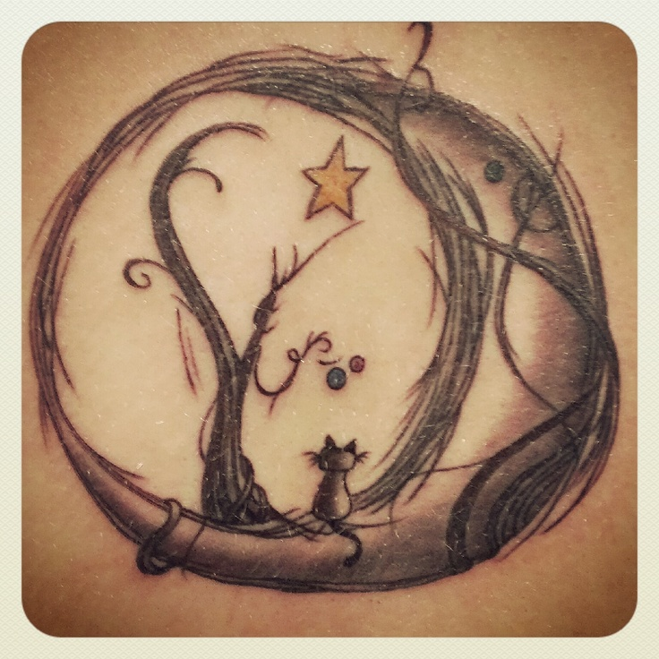 736x736 Moon Tattoos That Are Out Of This World