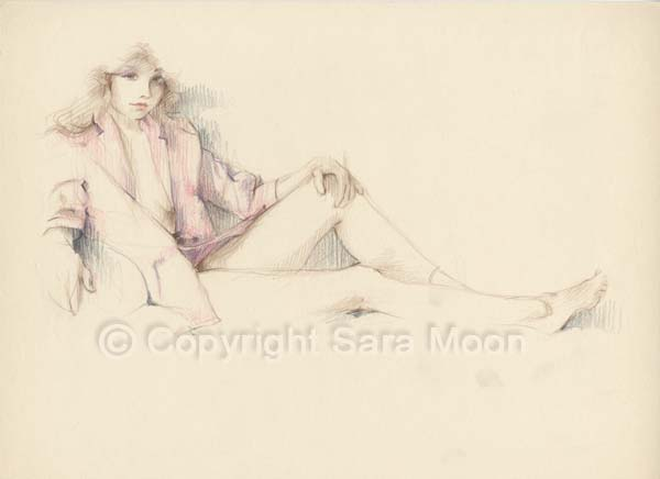 600x436 Sara Moon 1989. Sara Moon Moon And Draw