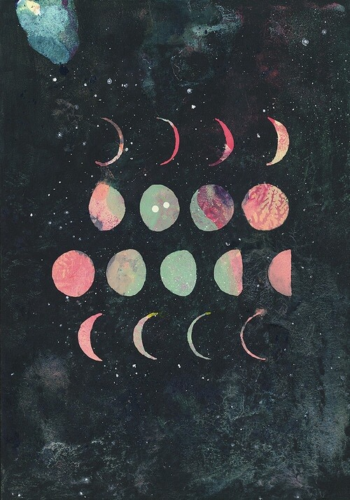 500x714 Moon Phases Drawing Tumblr Moon Phases Draw Tumblr Wallpapers