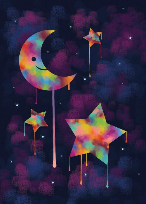 500x700 Resultado De Imagen Para Tumblr Moon Phases Drawing To Draw