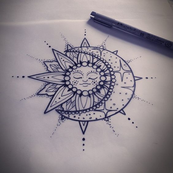 564x564 Moon Phase Mandala Tumblr