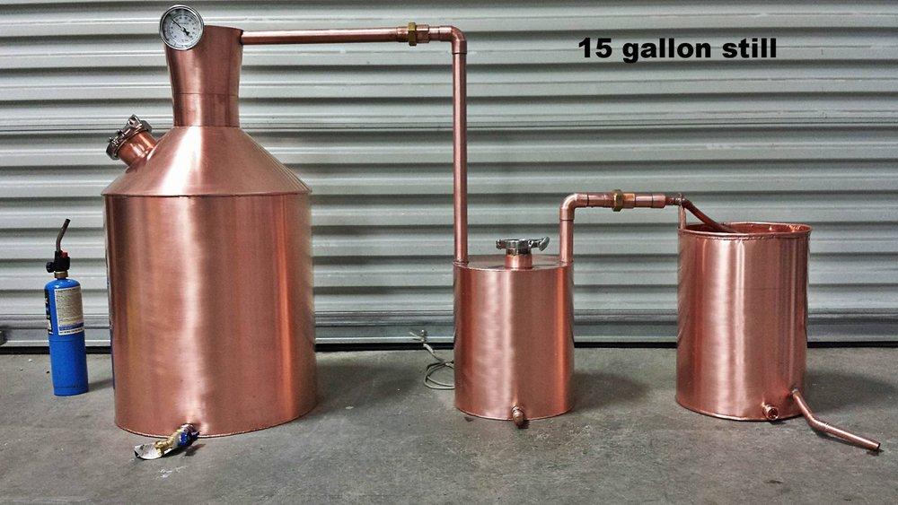 1000x563 Traditional Appalachian Moonshine Still, 10 30 Gallon Burner Style