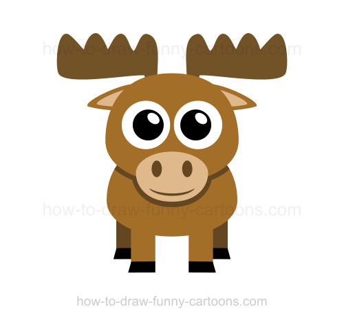 500x468 To Draw A Moose