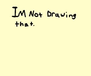 300x250 Damn My Peniz Is A Mop (Drawing By Bert)