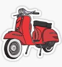 210x230 Moped Drawing Stickers Redbubble