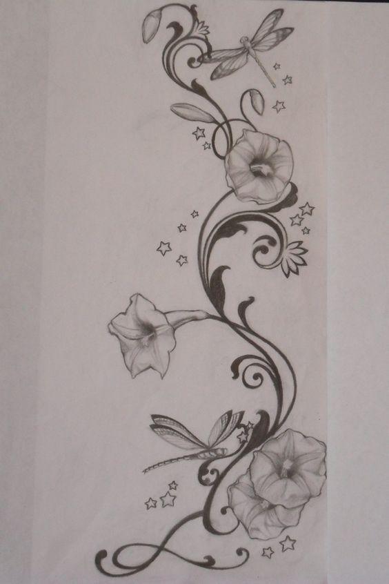 564x846 43 Best Morning Star Flower Tattoo Images On Morning
