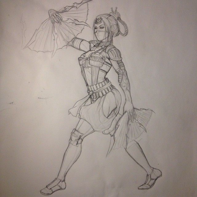 640x640 Mortal Kombat X Concept Art. Drawing 101 Mortal