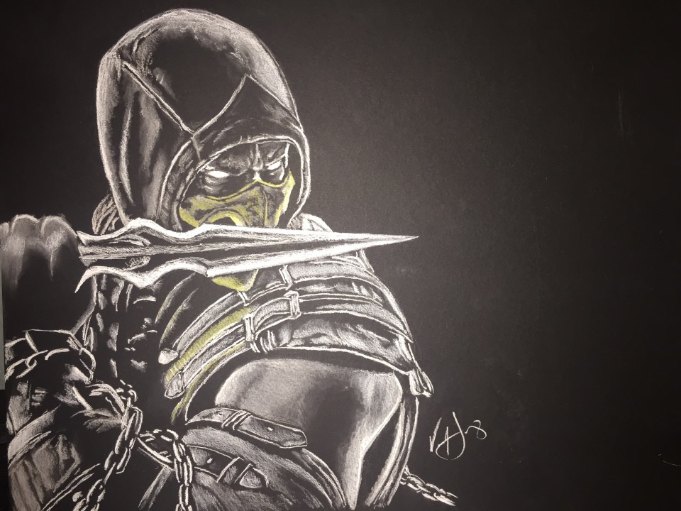 Mortal Kombat X Drawing at GetDrawings.com | Free for personal use ...