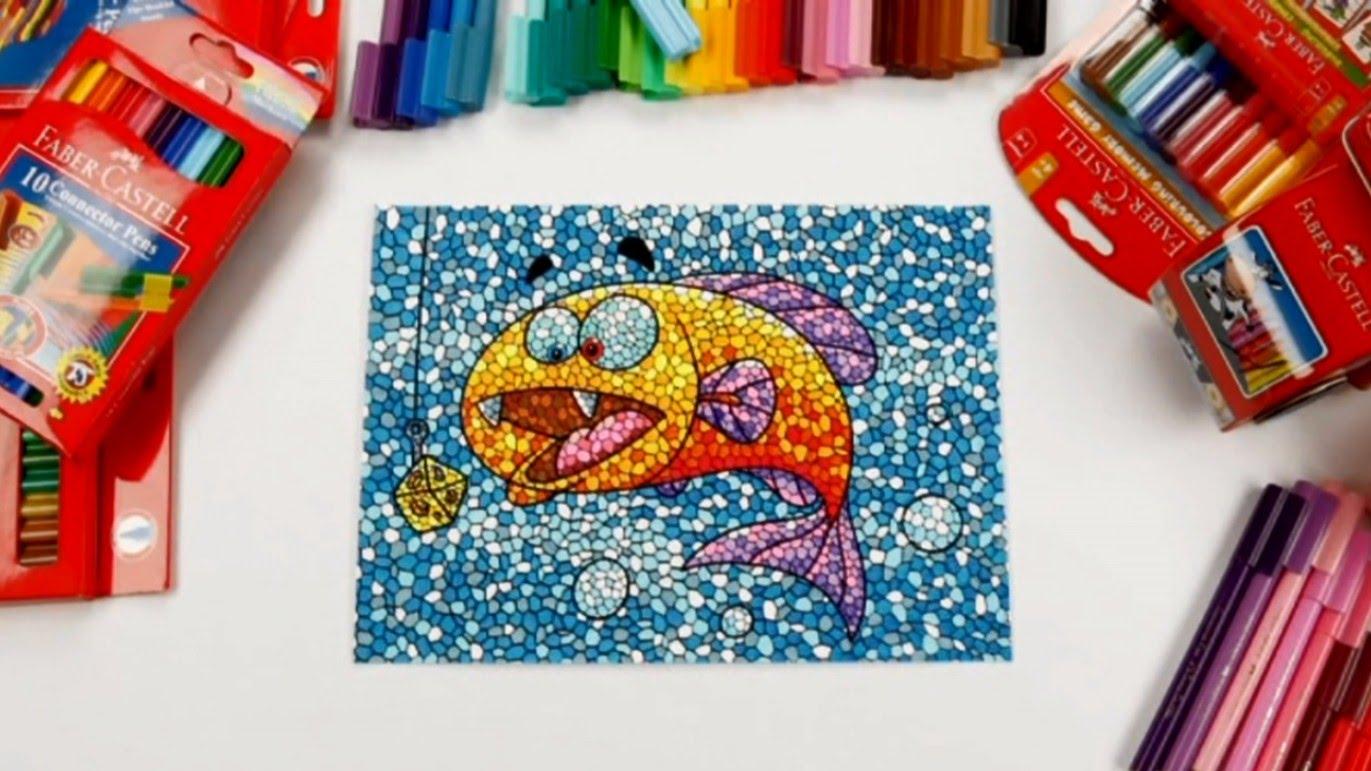 Mosaic Drawing at GetDrawings.com   Free for personal use Mosaic ...