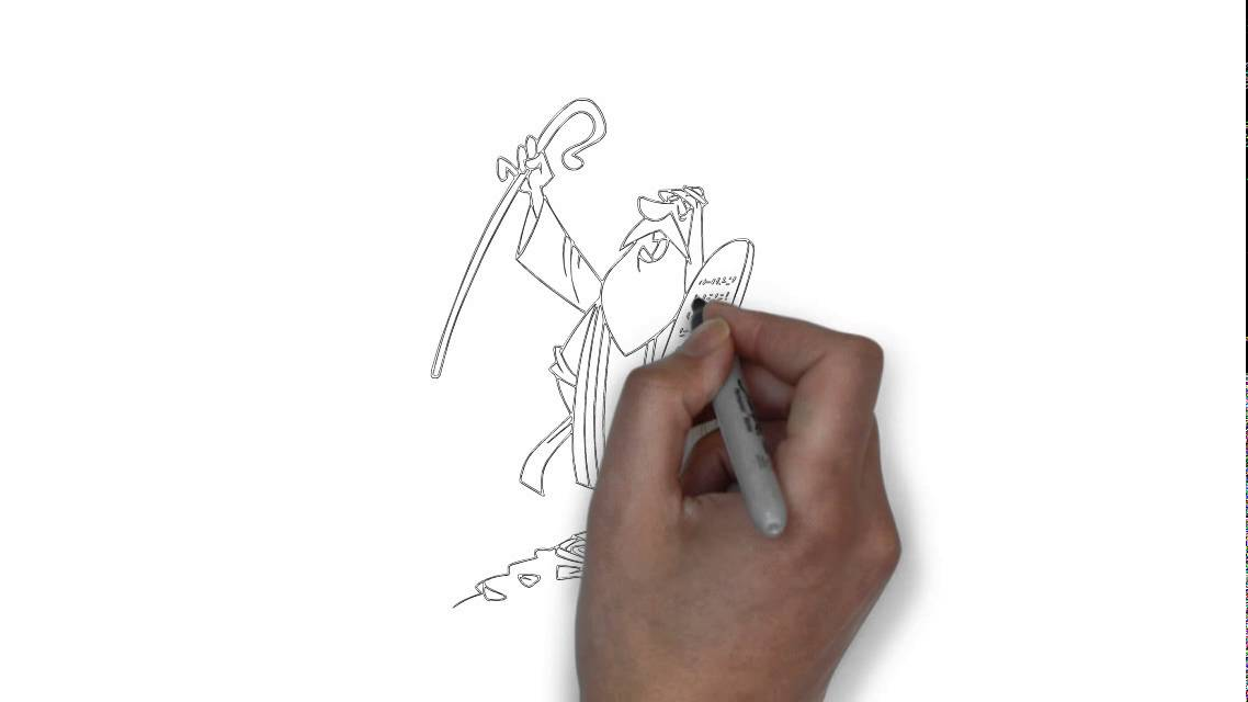 1138x640 How To Draw Moses
