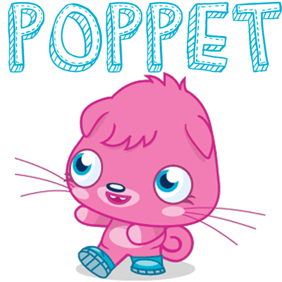400x400 How To Draw Poppet From Moshi Monsters With Easy Step By Step