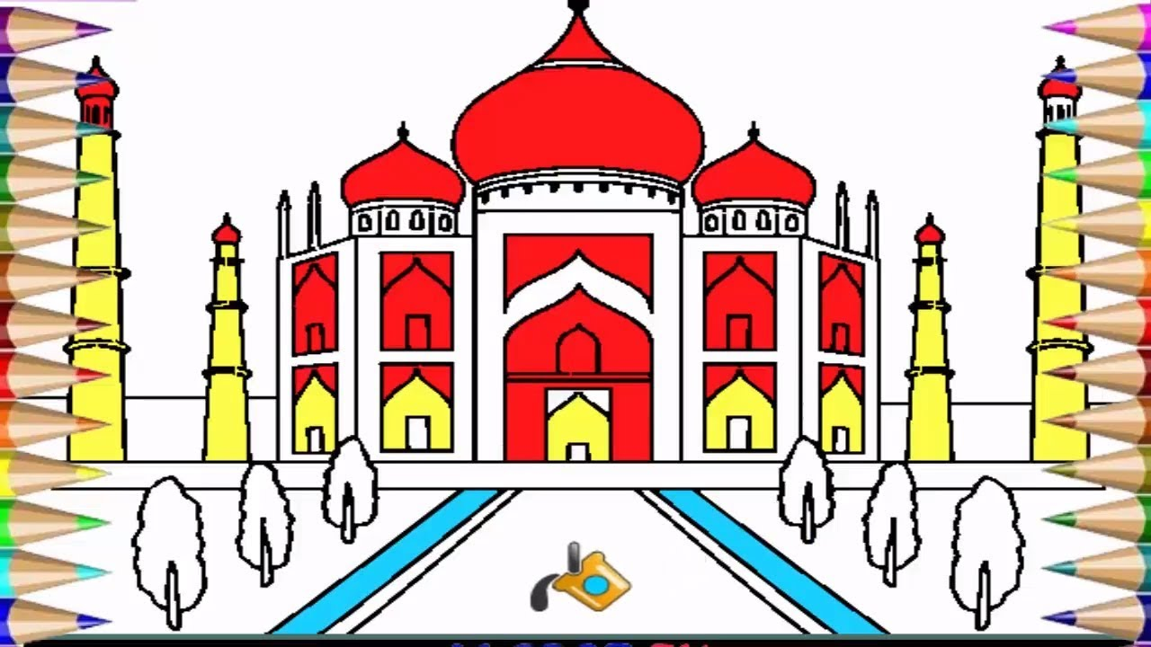 Mosque Drawing For Kids At Getdrawings Free Download