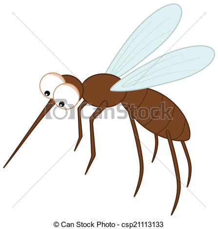 447x470 Sting Mosquito With Big Eyes Vectors
