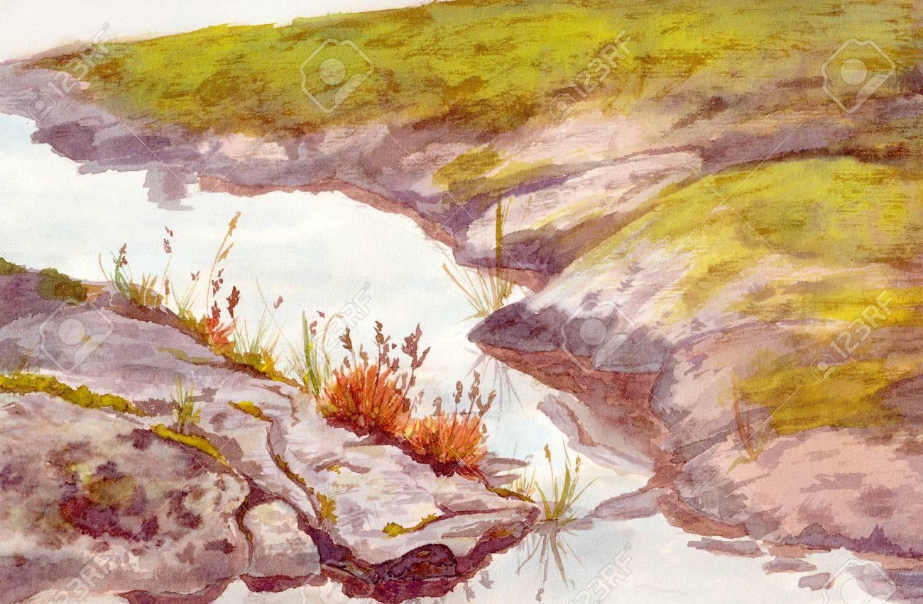 1300x852 Watercolour Drawing