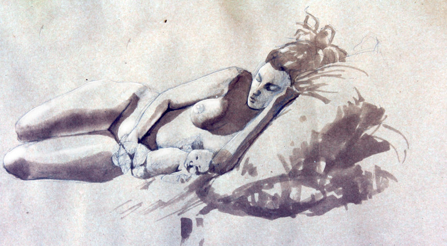900x496 Life Drawing Mother And Child By Ninykinin
