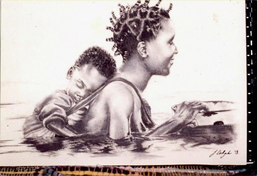 900x615 Tribal Drawing