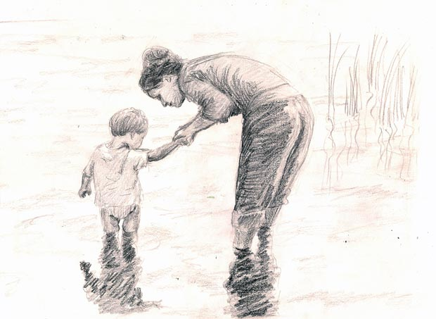 620x453 pictures full hd mather and son sketch photo