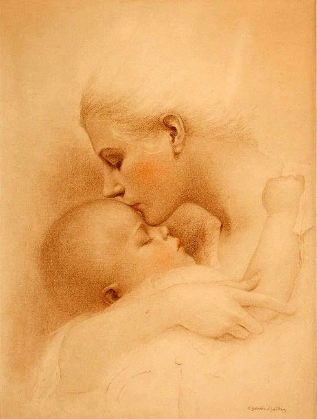 462x610 Mother Child Paintings Drawings Mother And Child A Wonderful