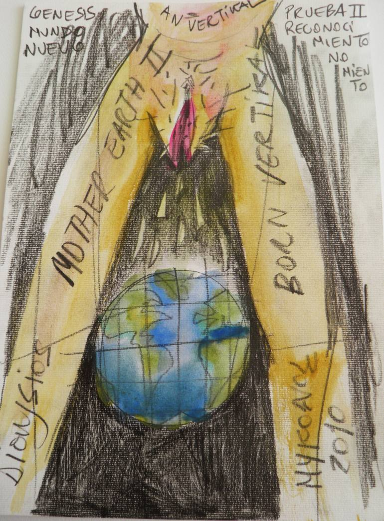770x1043 Saatchi Art Mother Earth Drawing By Dionysios Proios Rallatos