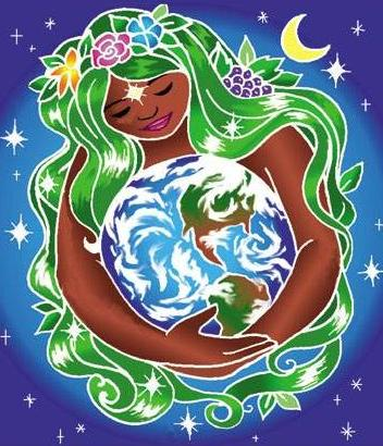 352x410 The Ancient Religion Of The Great Mother Mother Earth, Earth