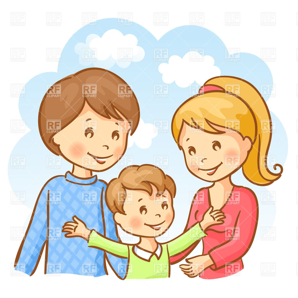 1000x1000 Pictures Mother Father Baby Clip Art,